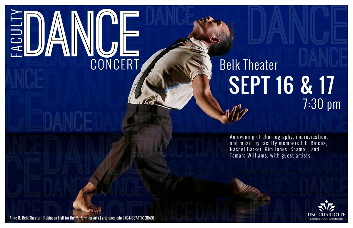 SEE THE SHOW: UNCC Faculty DanceConcert